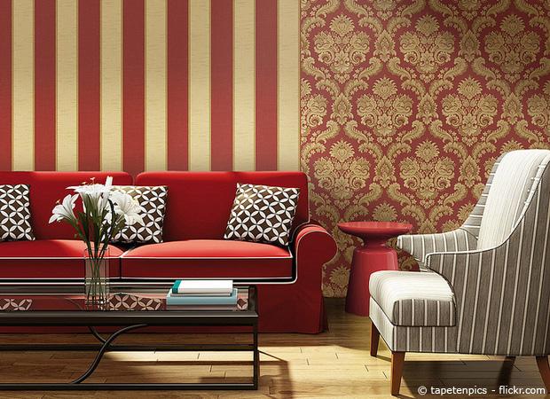Tapeten ideen ungeahnt vielseitig deko f r den wohnraum for Tapetenmuster schlafzimmer