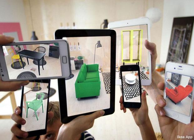 Die Wohnung einrichten: Apps für die virtuelle Raumgestaltung