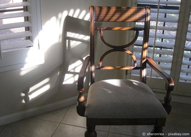 Stühle selbst beziehen