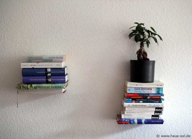 Gut bekannt Unsichtbares Bücherregal selber bauen: Komplette Anleitung QK53