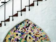Mosaik Fließen selber verlegen.