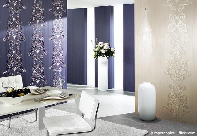 richtig tapezieren anleitung tipps und tricks wohnen hausxxl wohnen hausxxl. Black Bedroom Furniture Sets. Home Design Ideas
