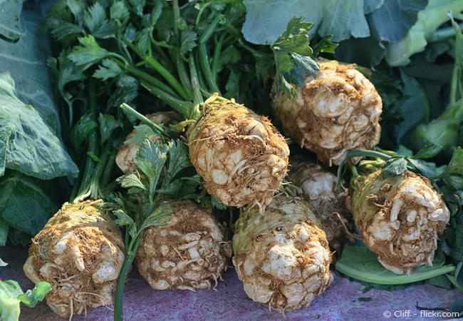 Verwendung von Kochsalz im Garten.