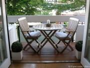 Tipps, um einen kleinen Balkon zu gestalten