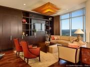 Ein gemütlicher Teppich für das Wohnzimmer macht den gesamten Raum viel gemütlicher.