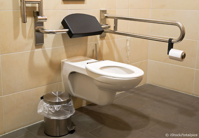 altersgerechtes Badezimmer