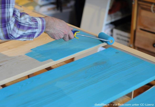 Hervorragend Regal selber bauen – Klassisches und einfaches Bücherregal KJ72