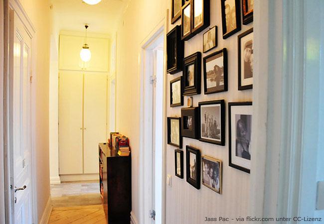 fotowand gestalten ideen und umsetzung wohnen hausxxl wohnen hausxxl. Black Bedroom Furniture Sets. Home Design Ideas