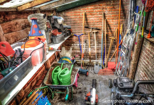 Die Gartengeräte wieder auf Vordermann bringen: Eine perfekte Arbeit für den Winter