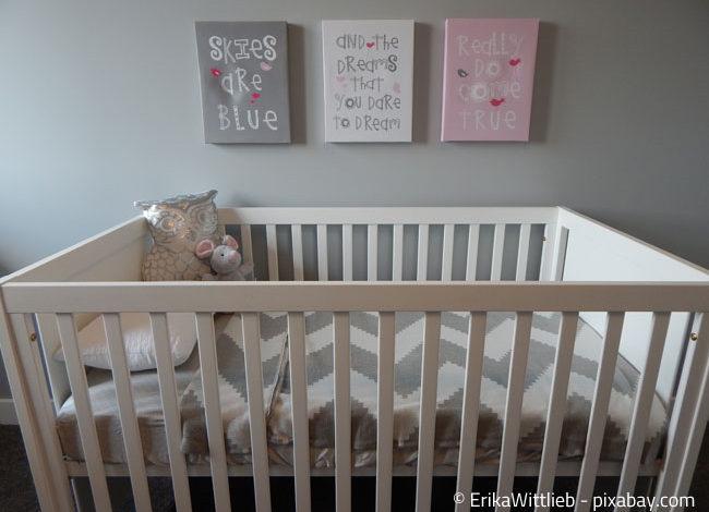 Der erste Kinderbett darf ruhig ein klein wenig größer sein!