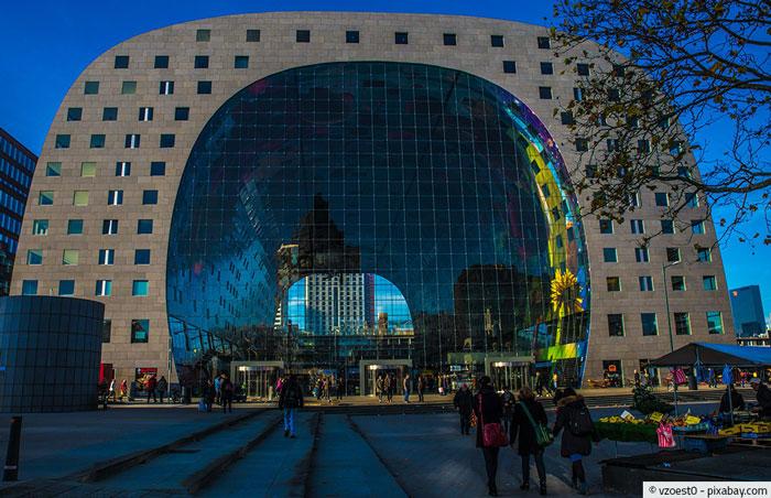 Multifunktionale Markthalle Rotterdam