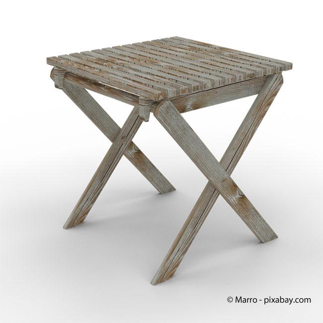 Holzmöbel sind die umweltschonendere Alternative zu Balkonmöbeln aus Plastik