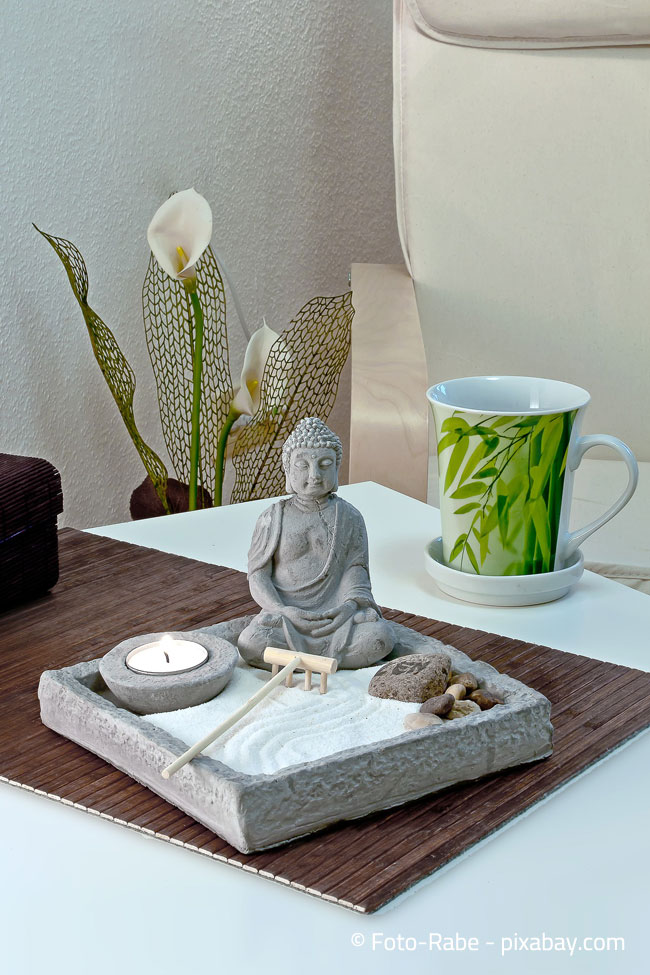 Entspannung und Harmonie mit Feng Shui