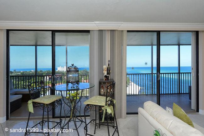 Penthouse Wohnungen überzeugen meist mit überragenden Ausblicken