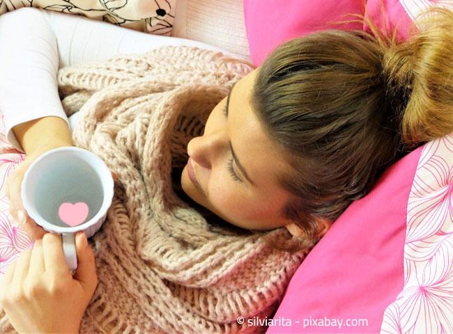 Im Wohnzimmer, wo Sie sich auch entspannen, darf es ruhig etwas wärmer sein