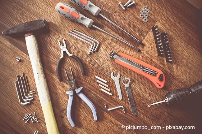 Das richtige Werkzeug ist bei einem Umzug das A und O.