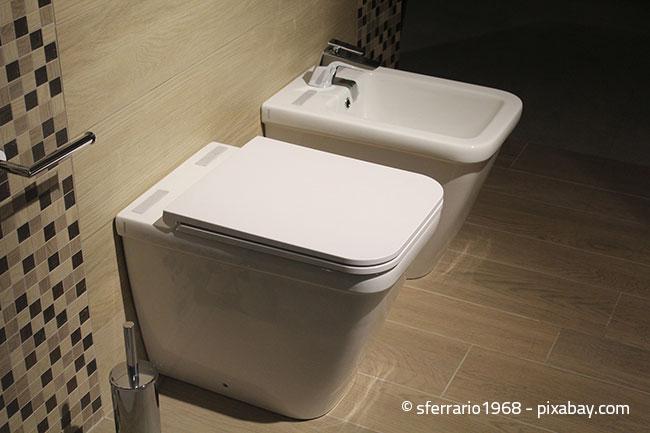 Putzen Sie Ihr WC am besten grob alle 2 Tage, so können sich gar keine Ablagerungen erst festsetzen