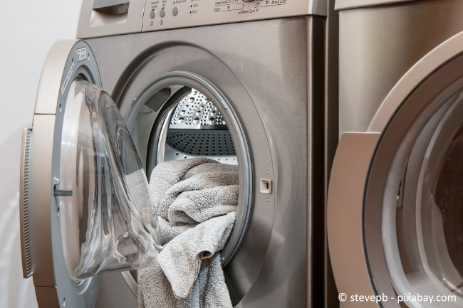 Auch Ihre Waschmaschine sollten Sie regelmäßig entkalken, um eine lange Lebensdauer zu gewährleisten.