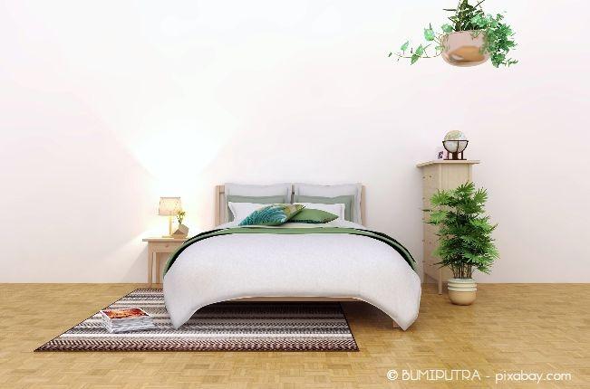 Ordnung ist das A und O bei Feng Shui, auch in anderen Räumen wie dem Schlafzimmer.