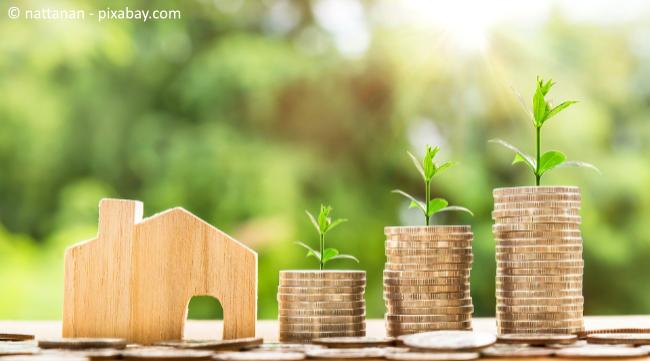 Die Quadratmeterpreise für Immobilien steigen immer weiter, trotz Corona.