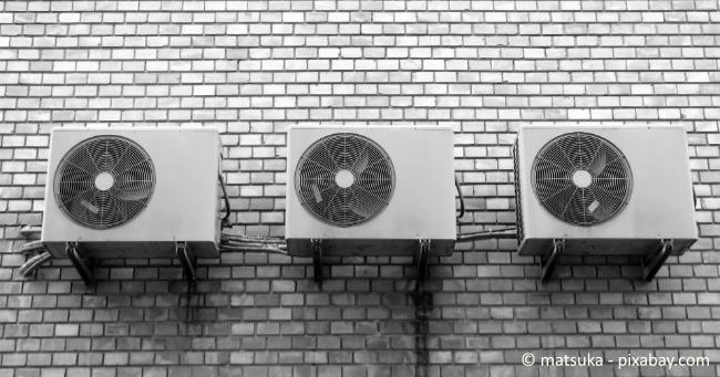 Mit einer Klimaanlage können Sie Ihre Wohnung effektiv kühlen.