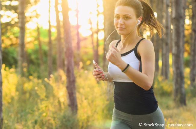 Sportliche Betätigung hilft den Kopf frei zu bekommen. Ob draußen oder drin, das bleibt Ihnen überlassen.