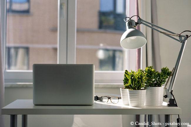 Achten Sie darauf, dass Ihr Arbeitsbereich möglichst natürliches Licht hat.