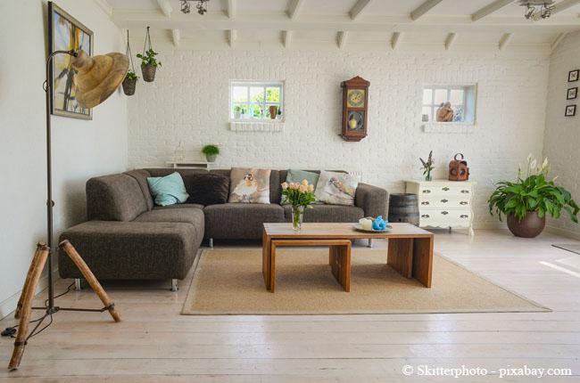 Achten Sie auf die passende Größe, bevor Sie sich einen neuen Teppich anschaffen.